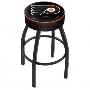 L8B1 Philadelphia Flyers Bar Stool w/Black Background