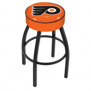 L8B1 Philadelphia Flyers Bar Stool w/Orange Background