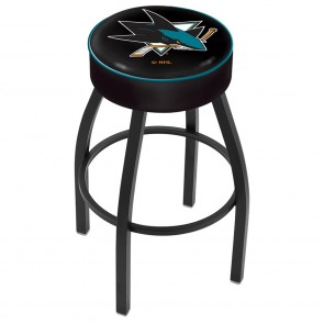 L8B1 San Jose Sharks Bar Stool