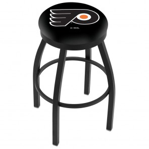 L8B2B Philadelphia Flyers Bar Stool w/Black Background