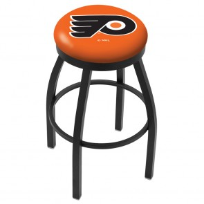 L8B2B Philadelphia Flyers Bar Stool w/Orange Background