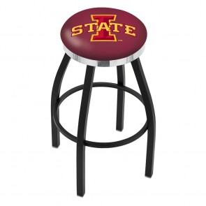 L8B2C Iowa State Bar Stool