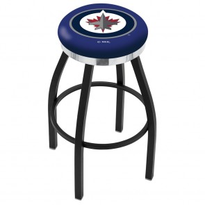 L8B2C Winnipeg Jets Bar Stool