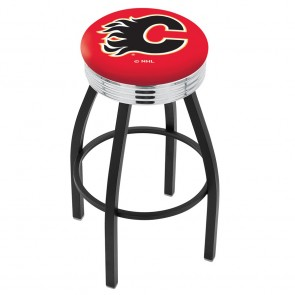 L8B3C Calgary Flames Bar Stool