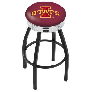 L8B3C Iowa State Bar Stool