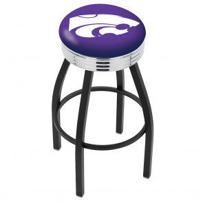 L8B3C Kansas State Bar Stool