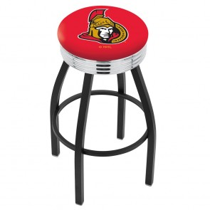 L8B3C Ottawa Senators Bar Stool