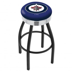 L8B3C Winnipeg Jets Bar Stool