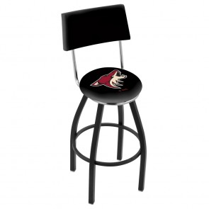L8B4 Arizona Coyotes Bar Stool
