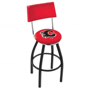 L8B4 Calgary Flames Bar Stool