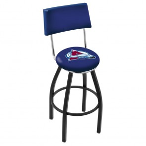 L8B4 Colorado Avalanche Bar Stool