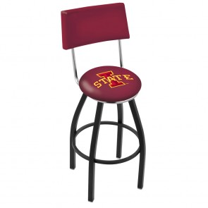 L8B4 Iowa State Bar Stool
