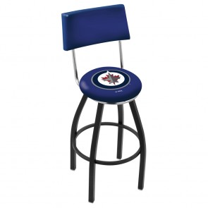 L8B4 Winnipeg Jets Bar Stool