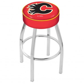 L8C1 Calgary Flames Bar Stool