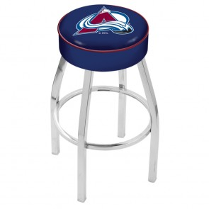 L8C1 Colorado Avalanche Bar Stool