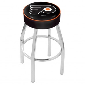 L8C1 Philadelphia Flyers Bar Stool w/Black Background
