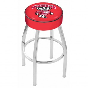 L8C1 Wisconsin Badger Bar Stool