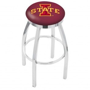 L8C2C Iowa State Bar Stool