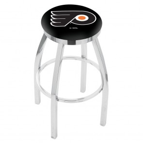 L8C2C Philadelphia Flyers Bar Stool w/Black Background