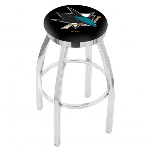 L8C2C San Jose Sharks Bar Stool