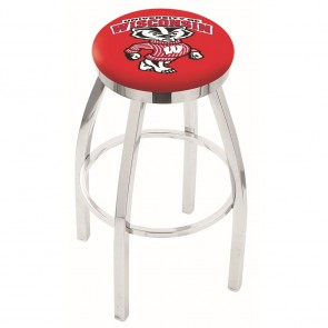 L8C2C Wisconsin Badger Bar Stool