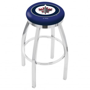 L8C2C Winnipeg Jets Bar Stool