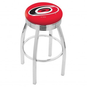 L8C3C Carolina Hurricanes Bar Stool