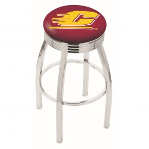 L8C3C Central Michigan Bar Stool