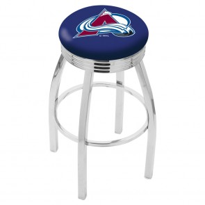 L8C3C Colorado Avalanche Bar Stool