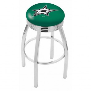 L8C3C Dallas Stars Bar Stool