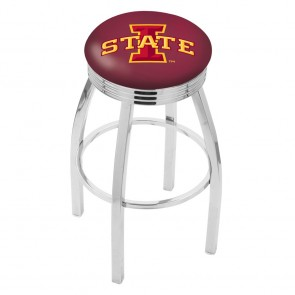L8C3C Iowa State Bar Stool