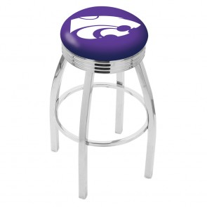 L8C3C Kansas State Bar Stool