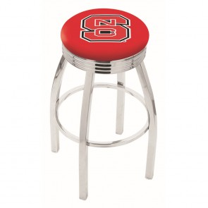 L8C3C North Carolina State Bar Stool