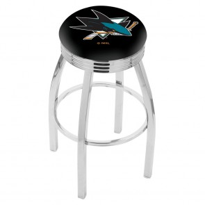 L8C3C San Jose Sharks Bar Stool
