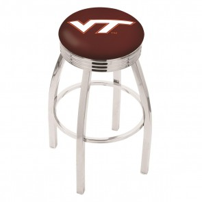 L8C3C Virginia Tech Bar Stool