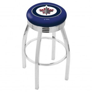 L8C3C Winnipeg Jets Bar Stool