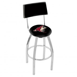 L8C4 Arizona Coyotes Bar Stool