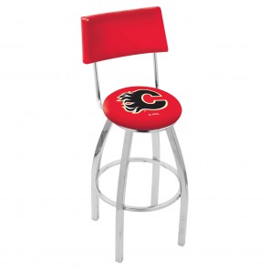 L8C4 Calgary Flames Bar Stool