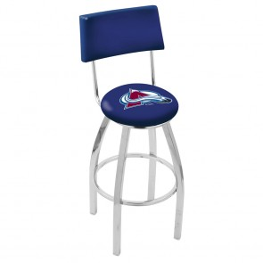 L8C4 Colorado Avalanche Bar Stool