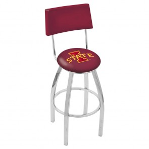 L8C4 Iowa State Bar Stool