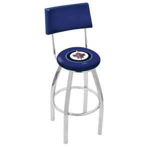L8C4 Winnipeg Jets Bar Stool