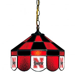 "Nebraska 14"" Executive Swag Hanging Lamp"