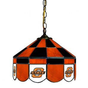 "Oklahoma State 14"" Executive Swag Hanging Lamp"