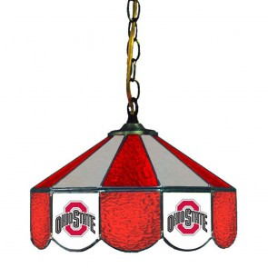 "Ohio State Athletic O 14"" Swag Hanging Lamp"