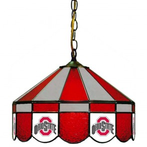 "Ohio State Athletic O 16"" Swag Hanging Lamp"