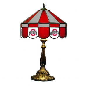 "Ohio State Athletic O 16"" Table Lamp"