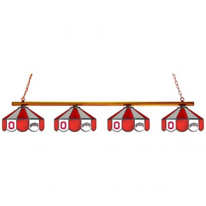 Ohio State Block O and Wordmark 4-Light Game Table Light