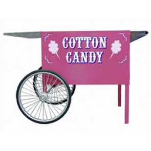 Pink Deep Well Cotton Candy Cart