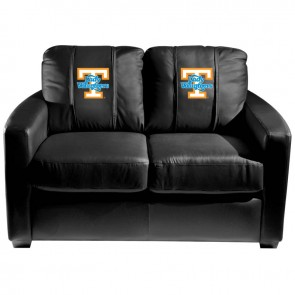 Tennessee Lady Voulnteers Dillon Silver Loveseat