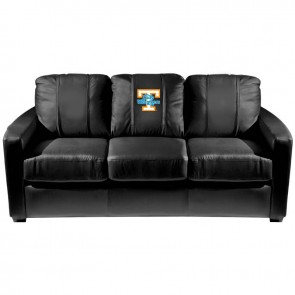 Tennessee Lady Voulnteers Dillon Silver Sofa